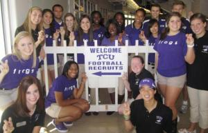 The TCU Ambassadors make up one of the many awesome student organizations on campus.