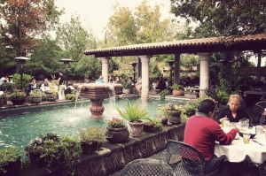 Joe T. Garcia's is a beautifully landscaped restaurant and a great option for anyone wanting some traditional Tex-Mex.