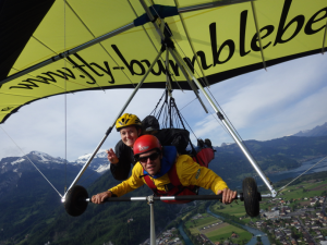 Hang gliding in Europe with TCU. What could be better?