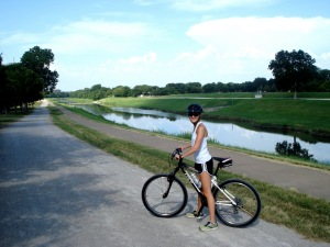 The Trinity Trails follow the Trinity River all over the City of Fort Worth.