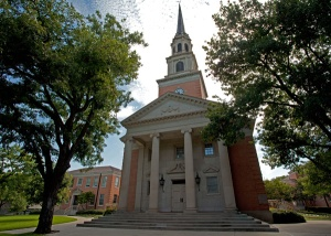 Robert Carr Chapel is home to many services throughout the year on TCU's campus.