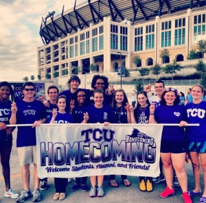 Homecoming was definitely a time when the TCU spirit came alive!