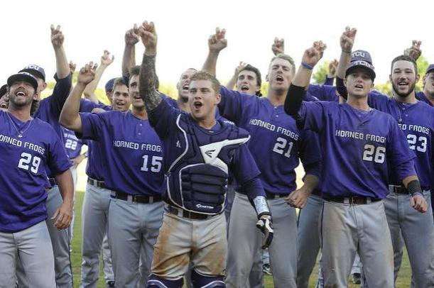 The TCU spirit is definitely alive on the baseball diamond.