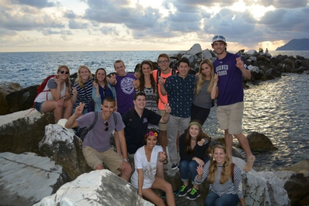 The Cultural Routes trip with the Honors College helped solidify my love of the TCU community.